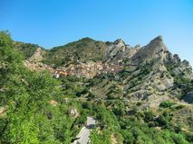 Castelmezzano Stock Photography