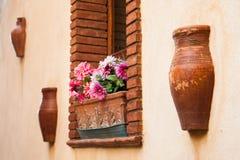 Castelmola corners Stock Photography