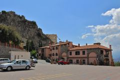 Castelmola Royalty Free Stock Image