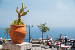 Castelmola views Royalty Free Stock Photo