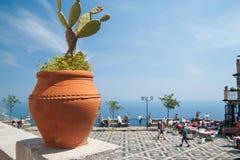 Castelmola views Royalty Free Stock Photos