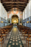 Castelmonte  sanctuary - church interior Royalty Free Stock Photography
