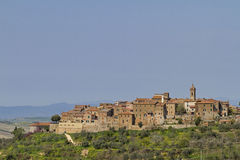 Castelmuzio Stock Photography