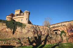Castelnau castle Stock Photos