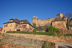 Castelnau castle Stock Photography