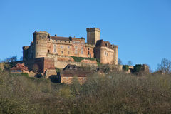 Castelnau castle Stock Images