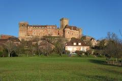 Castelnau castle Royalty Free Stock Photo