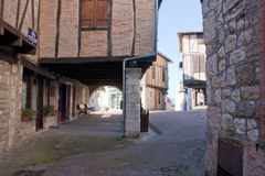 Castelnau-De-Montmiral Photo stock