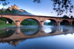 Castelnaud Stock Photo