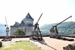 Castelnaud Foto de archivo