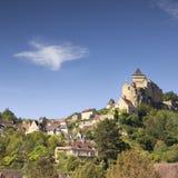 Castelnaud Aquitaine Γαλλία Στοκ εικόνες με δικαίωμα ελεύθερης χρήσης