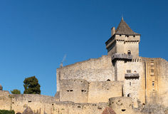 Castelnaud Castle Royalty Free Stock Photo
