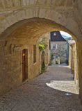 Castelnaud Doorway Stock Photo