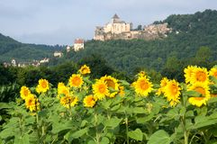 Castelnaud, France Royalty Free Stock Image