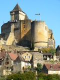 Castelnaud-la-Chapele ( France ) Royalty Free Stock Photography