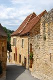 Castelnaud street Royalty Free Stock Photo