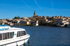 Castelnaudary, Francja Zdjęcia Royalty Free
