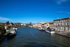Castelnaudary, Francja Fotografia Stock