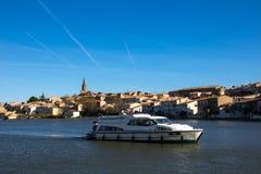 Castelnaudary, Frankreich lizenzfreie stockfotografie
