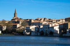Castelnaudary Frankrike Arkivbilder