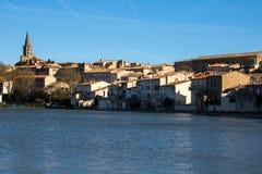 Castelnaudary Frankrike Royaltyfri Fotografi