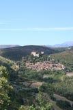 Castelnou, Francia. fotografia stock libera da diritti