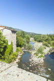 Castelnuovo creek Royalty Free Stock Photo