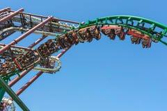 Castelnuovo del Garda, tree, Italy - Agust 31 2016: Gardaland Theme Amusement Park in Castelnuovo Del Garda, Verona, Italy. Carousel; fun; amusement; tree Royalty Free Stock Image