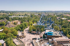 Castelnuovo del Garda, tree, Italy - Augusto 31 2016:Gardaland Theme Amusement Park in Castelnuovo Del Garda, Verona, Italy. Stock Photography
