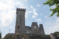 Castelnuovo Magra, in La Spezia, Italië wordt gevestigd dat Stock Foto
