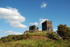 Castelo 01 de Dolwyddelan Imagem de Stock