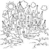 Castelo Imagem de Stock Royalty Free