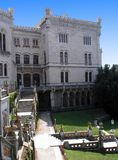 Castelo 3 de Miramare Fotografia de Stock Royalty Free