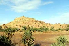 Castelo africano - Kasbah, Ksar de Ait Ben Haddou Fotografia de Stock Royalty Free