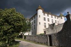 Castelo Aiguines Imagem de Stock