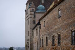 Castelo alemão velho imagem de stock