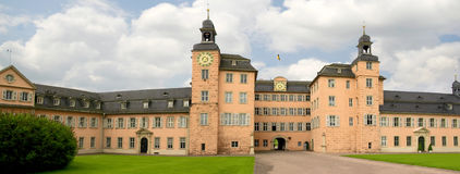 Castelo Alemanha de Schwetzingen imagens de stock royalty free