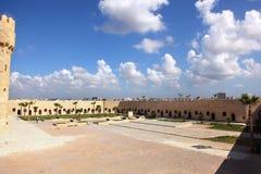 Castelo Alexandria de Qaetbay Fotos de Stock