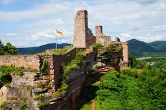Castelo Altdahn Imagens de Stock Royalty Free