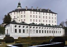 Castelo Ambras Fotografia de Stock Royalty Free