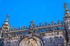Castelo antigo das pessoas de 600 anos em Tomar, Portugal Fotografia de Stock Royalty Free