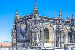 Castelo antigo das pessoas de 600 anos em Tomar, Portugal Foto de Stock