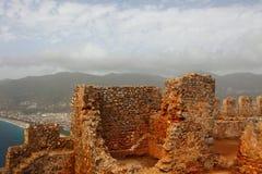 Castelo antigo em Alania Foto de Stock