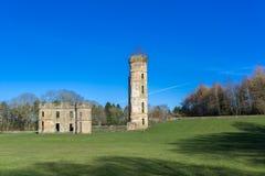 Castelo antigo Escócia de Eglinton das ruínas imagens de stock