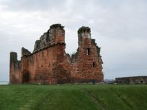 Castelo arruinado Fotos de Stock Royalty Free