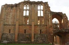 Castelo arruinado em Kenilworth, Warwickshire, Inglaterra, Europa Imagens de Stock