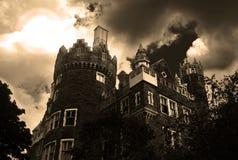 Castelo assombrado imagem de stock royalty free