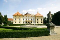Castelo Austerlitz fotografia de stock royalty free
