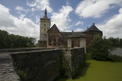 Castelo Bélgica Foto de Stock Royalty Free