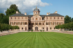 Castelo barroco de Rastatt perto de Baden Baden imagem de stock royalty free
